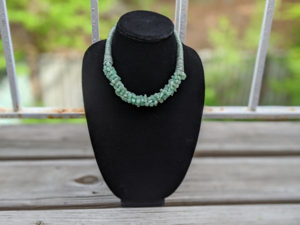 Bohemian African Style Choker Necklaces - Green